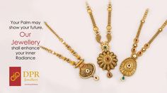 Being One Of The Most Trusted Jewellers In Ahmedabad DPR Jewellery Has All Your Gold Jewellery Needs Covered. We Specialize in Bridal Jewellery, Gold Jadtar Jewellery, Traditional Jewellery, Real Diamond Jewellery, etc % Real Gold Jewelry, Gold Wedding Jewelry, Royal Jewelry, Gold Jewellery, Jewelry Sets, Jewellery Showroom, Gold Mangalsutra, Gold Earrings Designs, Necklace Designs