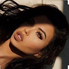 ☞ ριитєяєѕт: ʝαℓ¢αρυℓσиg Cute Makeup, Glam Makeup, Pretty Makeup, Skin Makeup, Beauty Makeup, Makeup Looks, Hair Beauty, Makeup Haul, Full Face Makeup