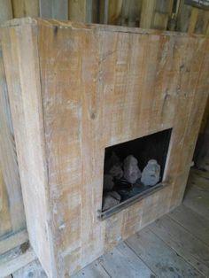Haard Van Eikenhouten Planken
