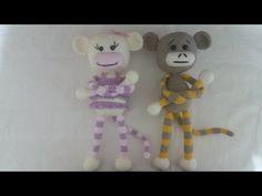 (Amigurumi ) Örgü Oyuncak Perde Tutucu Yapımı 1 (Crochet Amigurumi Curtain Holder Monkey 1) - YouTube