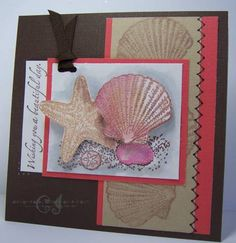Beautiful Beach Birthday by CharmWarm - Cards and Paper Crafts at Splitcoaststampers