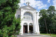 Kaplica Matki Boskiej w Augustowie-Studzienicznej 77 z  Sanktuarium Matki Bożej Studzieniczańskiej  ,