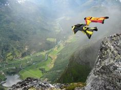 My current bucket list is to get a squirel suit and jump out of a helicopter in one. GIVE ME NOW!!!