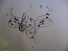 Music Notes Tattoo Design By Tattoosuzette On Deviantart picture 10729