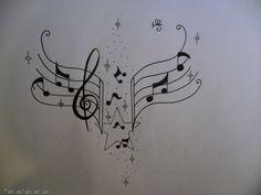 Music Notes Tattoo Design By Tattoosuzette On Deviantart picture 10729