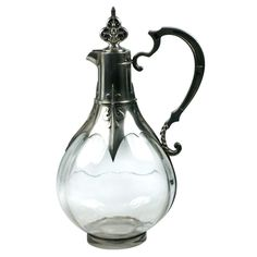 Cardeilhac Gothic Revival Sterling Decanter