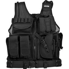 Keep your weapons handy with a tactical vest, an essential piece for the zombie apocalypse. #zombiehunter #cybermonday #giftideas Barska Loaded Gear VX-200 Tactical Vest