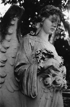 Weeping Angel Bonaventure Cemetery by johnmartine63, via Flickr