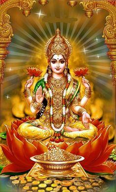 Take a look at this stunning compilation of our list of HD images where each Devi Lakshmi Image Is special - stunning Lakshmi images/photos. Durga Images, Lakshmi Images, Ganesh Images, Ganesha Pictures, Lord Krishna Images, Saraswati Goddess, Shiva Shakti, Goddess Lakshmi, Durga Ji