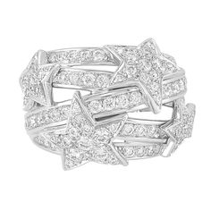 White Gold and Diamond 'Comete' Ring, Chanel, France