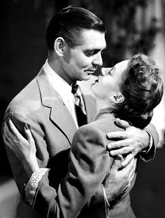 Clark Gable and Deborah Kerr in The Hucksters 1947