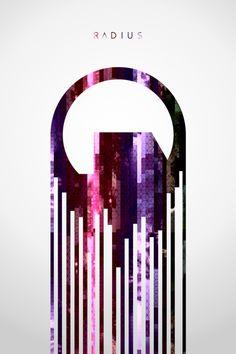 Black Mesa inspired glitch art - Radius Graphic Design