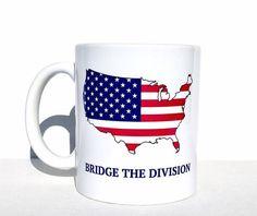 american flag bridge the divide political USA
