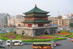 Bell Tower, Xi'an, China :)
