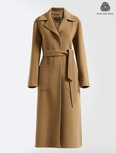 Experience Weekend Max Mara: shop the official Online Store and discover the latest Collections, news, fashion shows and special events. Fashion 2018, Fashion Show, Max Mara Coat, Cape Coat, Wool Coat, Coats For Women, Autumn Winter Fashion, Feminine, Style Inspiration