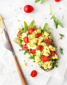 Healthy Egg Salad without mayo —A creamy and delicious egg salad recipe with fresh dill, chives, and Greek yogurt. Easy lunch recipe! @wellplated