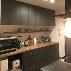 Pin on キッチンアイデア Kitchen Cupboards, Kitchen Dining, Japanese Kitchen, Interior Decorating, Interior Design, Kitchen Collection, Diy Home Improvement, Kitchen Styling, Country Kitchen