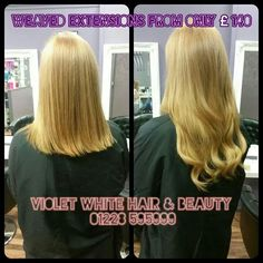 Weaved Extensions Violet White Hair Beauty Carlisle