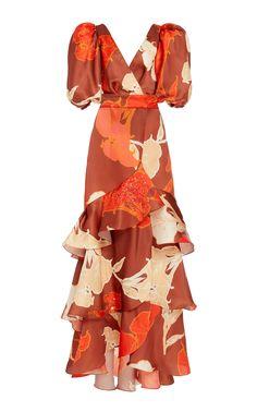 Get inspired and discover Johanna Ortiz trunkshow! Shop the latest Johanna Ortiz collection at Moda Operandi. Modest Dresses, Simple Dresses, Beautiful Dresses, Casual Dresses, African Print Fashion, African Fashion Dresses, African Dress, Dress Outfits, Dress Up