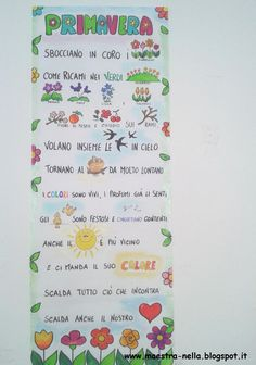 maestra Nella: primavera - poesia illustrata