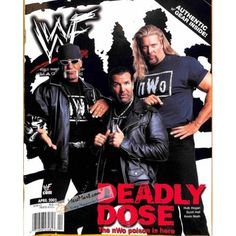 Cover Print of World Wrestling Entertainment Magazine, April 2002 | $4.72