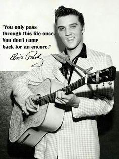 Elvis Presley quote