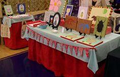 craft table display