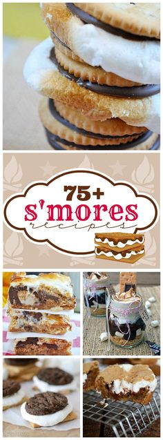 75+ Yummy S'mores Recipes