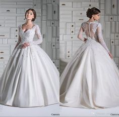 Modest Ball Gown Wedding Dresses Middle East Country Vintage Wedding Dresses With Sleeves Appliqued Lace Sheer Button Back Ball Gown Wedding Dresses By Arabic Dubai Hdy Cheap Ball Gowns Wedding Dresses From Sarabridal, $137.18| Dhgate.Com