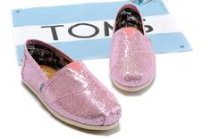 fresh and ready for your feet,TOMS shoes,god...SAVE 70% OFF! this is the best! | See more about toms shoes outlet, pink shoes and glitter shoes.
