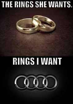 No I want the Audi rings thanks Audi Quotes, Me Quotes, Daily Quotes, Woman Quotes, Funny Picture Quotes, Funny Pictures, Amazing Pictures, Romance, Couple Relationship