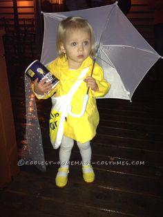 Cutest Little Morton Salt Girl Halloween Toddler Costume… Coolest Halloween Costume Contest