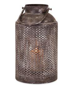 Another great find on #zulily! Farmer's Lantern #zulilyfinds  ($30)