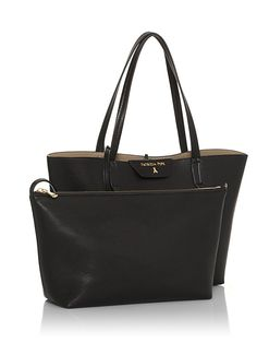 Reversible eco-leather shopping bag - 2V5452- AV63 - Patrizia Pepe