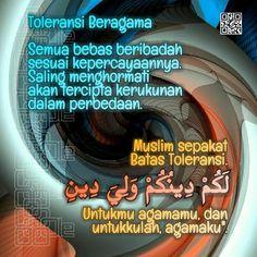 Toleransi Beragama Alhamdulillah, Islamic Quotes
