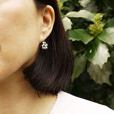 #silver #enamel #earrings by #joidart x #laracostafreda