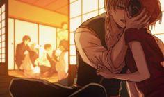 Anime Henti, Anime Kiss, Anime Couples Manga, Anime Kawaii, Cute Anime Couples, Gintama, Manga Cute, Anime Love Couple, Aesthetic Anime