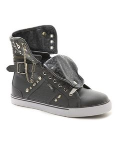 Look what I found on #zulily! Gray Sugar Rush Hi-Top Sneaker by Pastry #zulilyfinds