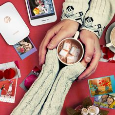 Love at first… purchase. Say I love you with the HP Sprocket and get a $15 gift card on us.