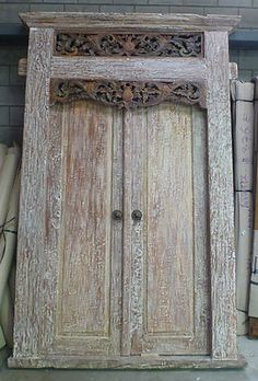 Beautiful Recycled Teak Reproduction Balinese Door & This Carved Teak Door makes a beautiful entrance. Java Door ... pezcame.com