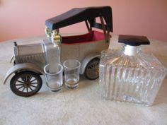 Vintage Hong Kong 1918 Ford Model T Car Whiskey Decanter Music Box | eBay