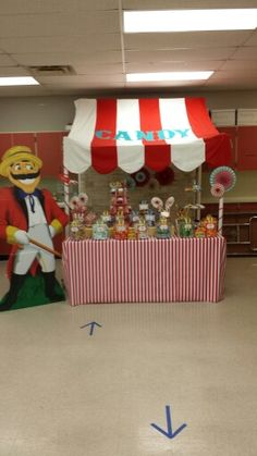 Carnival Candy Buffet