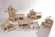 """""""Домиком"""", фотографии конструкторов и макетов   """"Домиком"""", деревянный конструктор для детей и взрослых"""