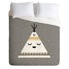 Elisabeth Fredriksson Little Tipi Duvet Cover | DENY Designs Home Accessories