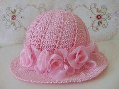 Modelos de chapéus em crochê para você se inspirar e fazer logo o seu! 766890b0aaf