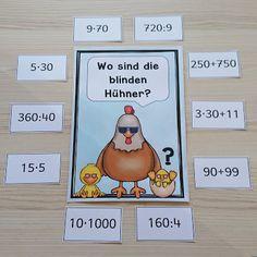 """Ideenreise: Kopfrechenspiel """"Blinde Hühner"""""""