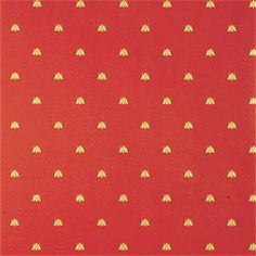 Thibaut Repertoire - Bee - Wallpaper - Red