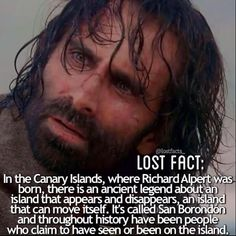 these types of legends are so fascinating i love how lost incorporates real…