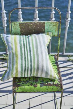 Designers Guild Palasari Moss cushion