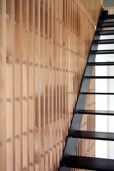 Rossignol is a shelf & railings custom designed as part of a private project. On two levels, the tablets are installed randomly on a frame in beech and aluminum. A Shelf, Solution, Custom Design, Pain, Wood, Designer, Furniture, Home Decor, Behance
